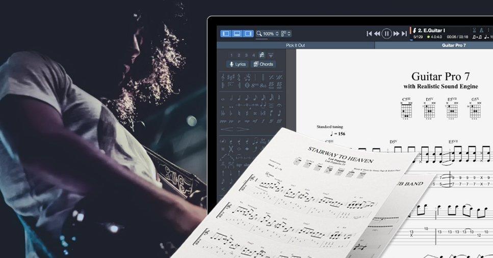 Arobas Music's Guitar Pro 7